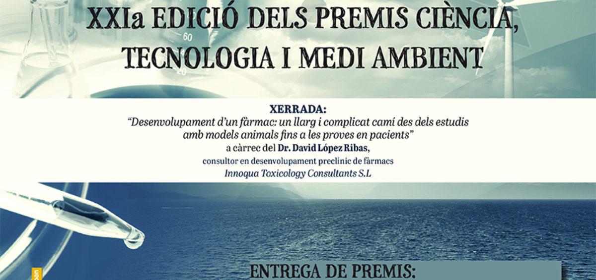 Premis Ciència, Tecnologia i Medi Ambient 2016