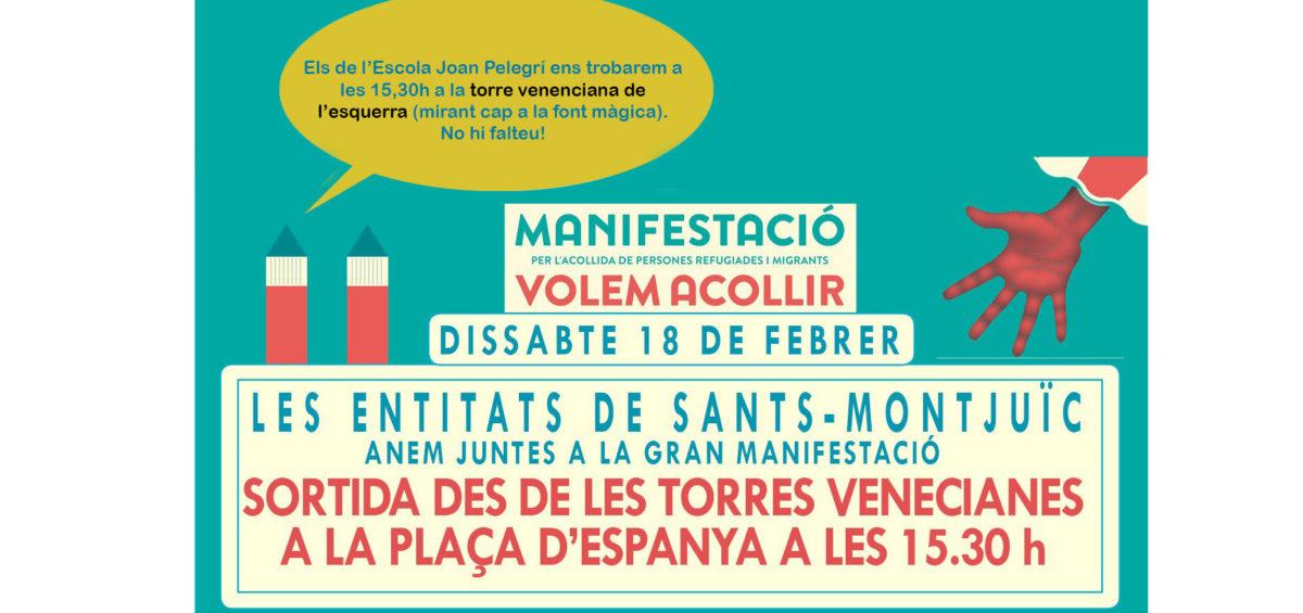 manifestació #volemacollir