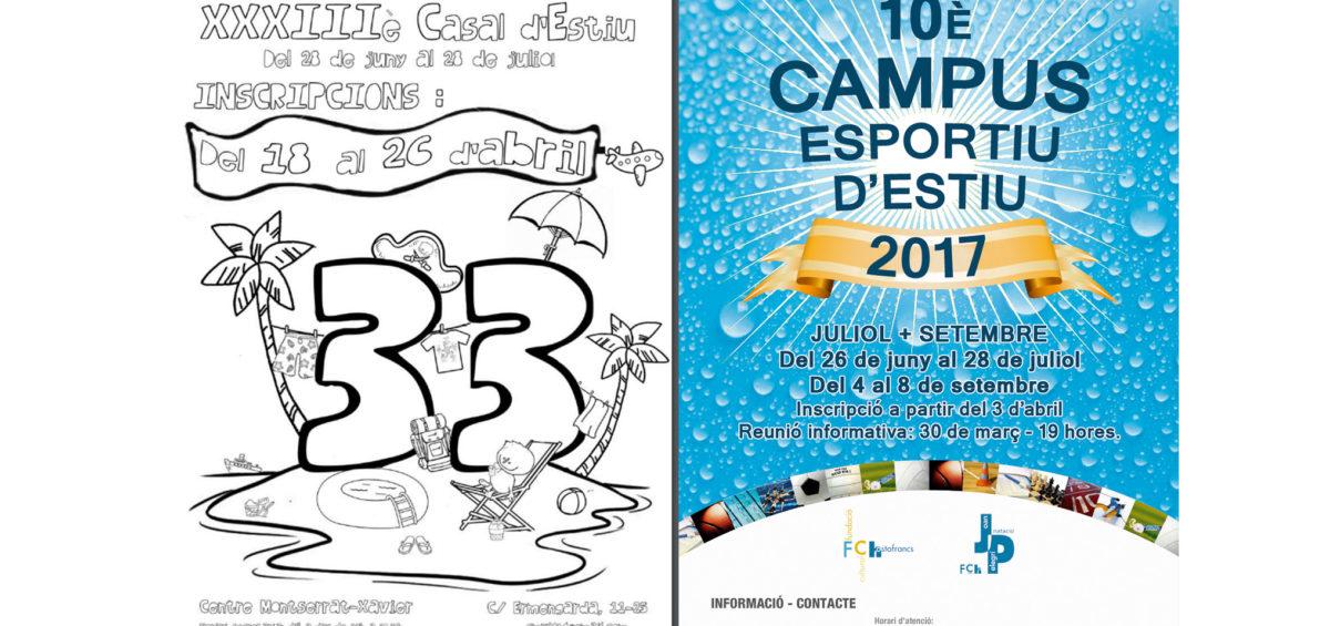 campus esportiu i casal d'estiu 2017