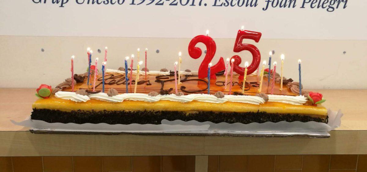 Pastis dels 25 anys del Grup UNESCO