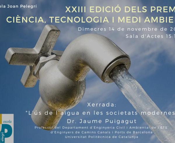 Premis Ciència Tecnologia Medi Ambient 2018