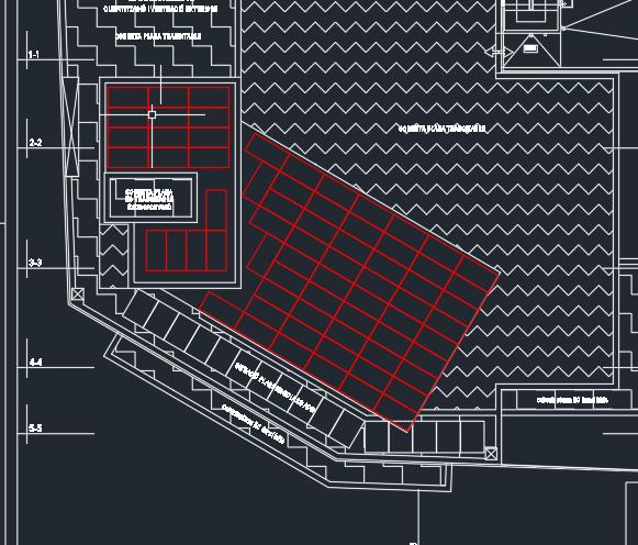 Simulació de la instal·lació de les plaques fotovoltaiques a la nova pèrgola de l'edifici d'Infantil-Primària