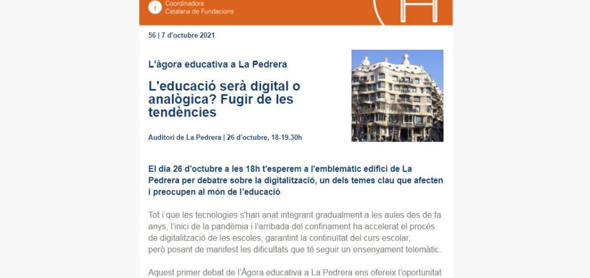 Agora Educativa La Pedrera